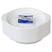 Horeca Select Teller 2-geteilt rund Ø 21,9 cm Weiß - 100 Stück