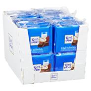 Ritter Sport Tafelschokolade Vollmilch Edelvollmilchschokolade, Kakao (35 %), 5 Stück à 100 g 16 x 500 g Packungen