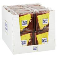 Ritter Sport Tafelschokolade Knusperkeks Butterkeks (14 %), Milch-Kakao-Creme (29,5 %), Vollmilchschokolade (56,5 %), 5 Stück à 100 g 16 x 500 g Packungen