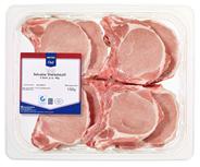 Horeca Select QS Schweine Stielkotelett frisch, Atmos-verpackt, 8 Stück á ca. 190 g ca. 1,5 kg Packung