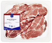 METRO Chef QS Schweine Nackenkotelett gekühlt, roh, 8 Stück à 180 - 200 g, Atmos verpackt - je kg