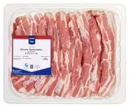 METRO Chef QS Schweine Bauchscheiben, roh, mit Knochen, 120 - 140 g Stücke - ca. 1,4 kg