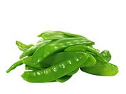 Horeca Select Zuckererbsenschoten tiefgefroren, küchenfertig, ca. 4 - 9 cm lang, 8 - 14 mm dick 1 kg Beutel
