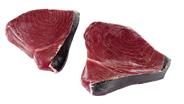 Thunfischsteaks ca. 200 - 250 g Stücke, ohne Haut, TRIM E je kg