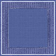 Dunicel Mitteldecke Santorini 84 x 84 cm Blau, Weiß - 20 Stück
