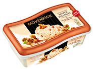 Mövenpick Piccolo Maple Walnuts mit karamelisierten Walnüssen & Ahornsirup 24 x 200 ml Karton