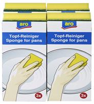 aro Topfreiniger mit Griff - 4 x 3 Stück
