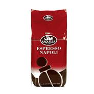Saquella Kaffeebohnen Espresso Napoli ganze Bohnen 10 x 1 kg Beutel
