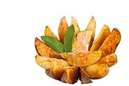 Horeca Select Patatas Bravas tiefgefroren, vorfritiert, ungewürzt, mediterrane Kartoffelstücke, ca. 16 Stück 2,5 kg Beutel