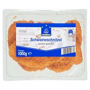 Horeca Select Schweineschnitzel paniert vorgebraten, 6 - 7 Stück 1 kg Packung
