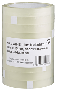 Heckmann Klebefilm Transparent 10 Stück