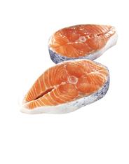 Horeca Select Bömlo Lachssteak ca. 275 - 310 g Stücke, ohne Kopf, mit Haut, TRIM B je kg