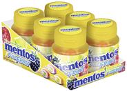 Mentos Full Fruit Kaugummi zuckerfrei 6 x 35 Stück Dosen