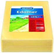 Milram Edamer Schnittkäse, 40 % Fett ca. 15 kg Block