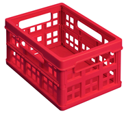 Really Useful Box Aufbewahrungsbox, 1,7 l, 18 x 13,5 x 90 cm Rot