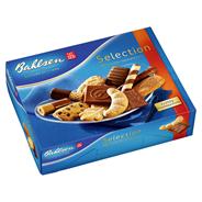 Bahlsen Selection 12 erlesene Spezialitäten Keks- und Waffelmix mit Edelherber- und Vollmilchschokolade 500 g Schachtel