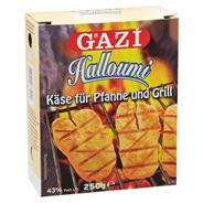 Gazi Halloumi Grillkäse 43 % Fett 10 x 250 g Packungen