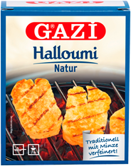 Gazi Halloumi Grillkäse 43 % Fett 250 g Packung