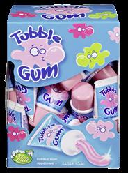 Lutti Tubble Gum Tutti Frutti Kaugummi, 36 Stück à 35 g 36 x 1,26 kg