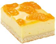 Edna Käse-Mandarinen-Traum tiefgefroren, geschnitten, 3 Stück à 2,25 kg 6,75 kg Karton