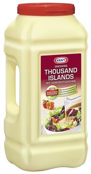 Kraft Salat-Dressing Thousand Islands mit Gemüsestückchen - 5 l Eimer