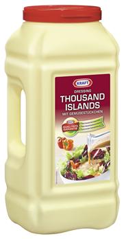 Kraft Salat-Dressing Thousand Islands mit Gemüsestückchen - 2 x 5 l Eimer