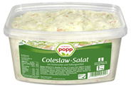 Popp Coleslawsalat Krautsalat nach amerikanischer Art 6 x 1 kg Packungen