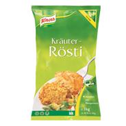 Knorr Kräuterrösti 60 Stück à 50 g 2 x 3 kg Beutel