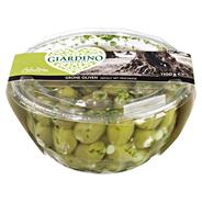 Giardino grüne Oliven gefüllt mit Frischkäse 1,1 kg Packung