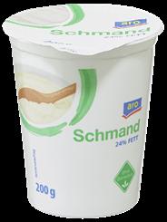 aro Schmand 24 % Fett 200 g Becher
