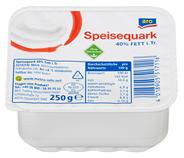 aro Speisequark 40 % Fett 250 g Becher