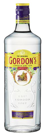 Gordons London Dry Gin 37,5 % Vol. - 6 x 1,00 l Flaschen