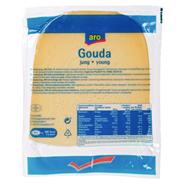 aro Gouda jung 20 Stück á 500 g, 48% Fett i. Tr. 10 kg Karton