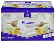 Horeca Select Eistüten süße Waffelhörnchen, 120 Stück á 2,66 g 120 Stück Packung