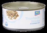 Aro Thunfischstücke in eigenem Saft und Aufguss 185 g Dose