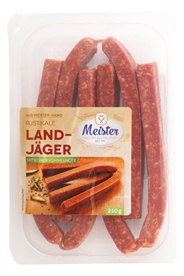 Meister Landjäger 6 x 35 g Packung
