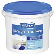 Milram Körniger Frischkäse 20 % Fett 5 kg Eimer