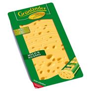 Grünländer mild-nussig, Schnittkäse, 48 % Fett, nussig 500 g Packung
