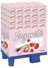 Yogurette Schokoriegel mit Erdbeerfüllung 160 x 300 g Karton