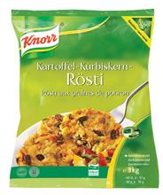 Knorr Kartoffel-Kürbiskern-Rösti 2 Stück à 3 kg 2 x 2 x 3 kg Beutel