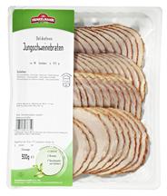 Henkelmann Jungschweine Lachsbraten kross gebratenes Schweinefleisch (94%) 500 g Packung