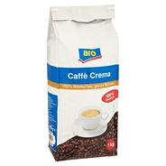 aro Kaffee Crema ganze Bohnen 1 kg Beutel