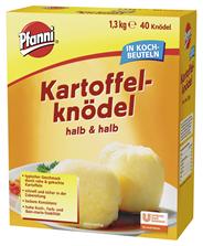 Pfanni Kartoffelknödel halb & halb im Kochbeutel, lockere Konsistenz, 40 Beutel 36 x 1,3 kg Karton