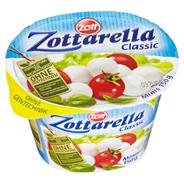 Zottarella Classic Minis Mozzarella 45 % Fett i. Tr. 150 g Becher