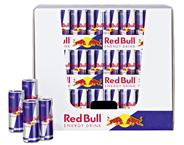 Red Bull Energy Drink 144 x 0,25 l Dosen