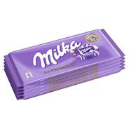 Milka Alpenmilch 5 Stück à 100 g, 500 g Packung