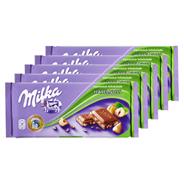 Milka Haselnuss 5 Stück à 100 g 500 g Packung