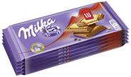 Milka Tafelschokolade Alpenmilch Schokolade & LU Kekse 5 Stück à 100 g 500 g Packung