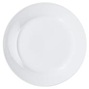 aro Flacher Teller rund weiß Ø 27 cm, 6 Stück