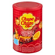 Chupa Chups Cola Lutscher 100 Stück à 12 g 1,2 kg Dose